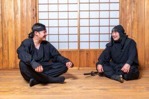忍者の対談