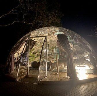 クリアドームテント