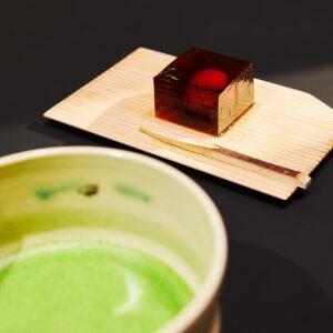 【抹茶と京菓子のセット】
