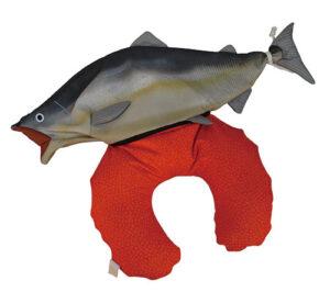 鮭 2WAYネックピロークッション