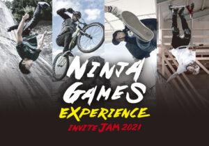 NINJA GAMES INVITE JAM ©FIELDSTYLE