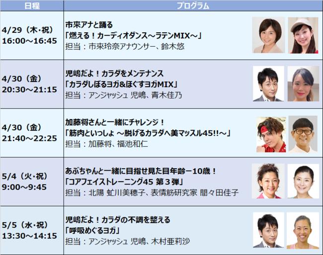 【特別企画-2】ゲスト登場 特別イベントプログラム