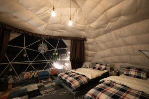野営テント