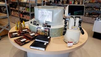 志布志市の特産品が買えるロボットマート