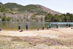 5月1日から今年の釣りが解禁された湯ノ湖(有料)