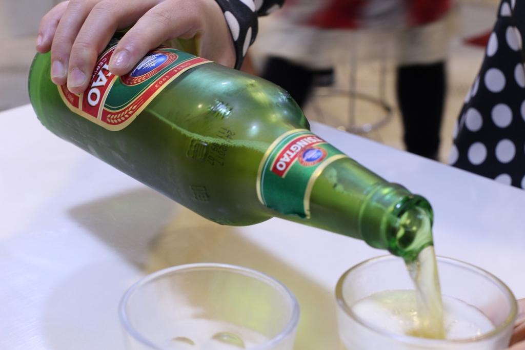 中国全土で広く飲まれる青島ビール