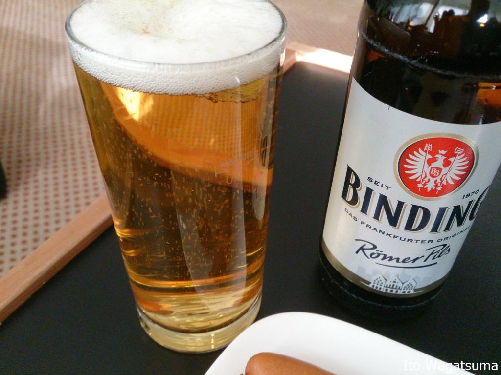 ビールの本場ドイツでも出されるビールはそんなに冷えてない