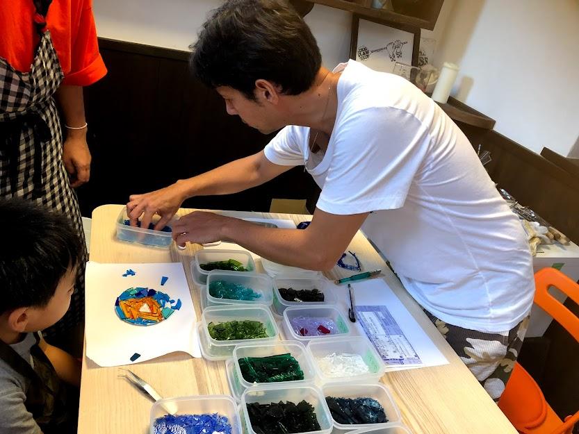 【ヨーナスガラスビジョン】世界に一つだけのフュージングガラス体験1名様分
