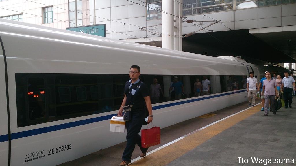 上海-北京間を1万円の運賃で乗車できる高速鉄道