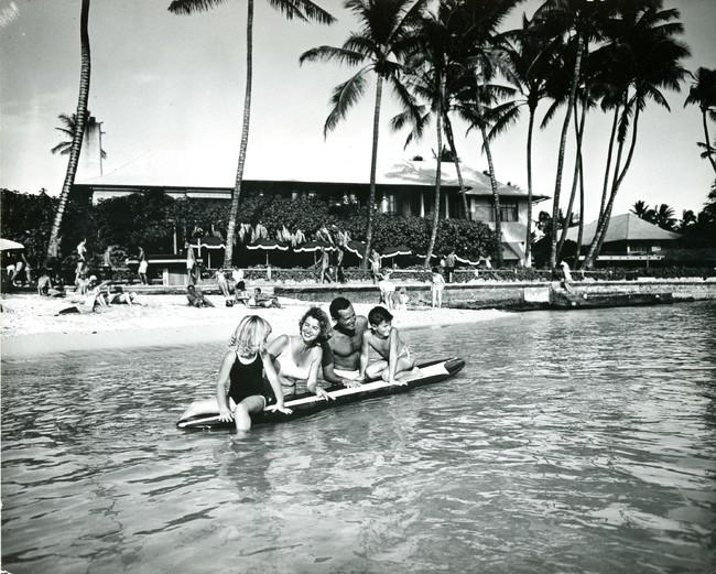 ビーチハウス(1950年撮影)