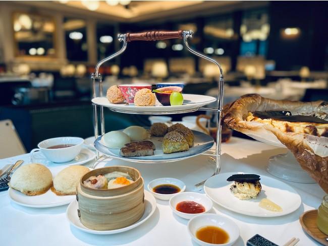 平日限定!点心師の点心とスイーツ、高級中国茶でアフタヌーンティーはいかが?
