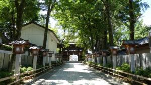 石切劔箭神社の様子